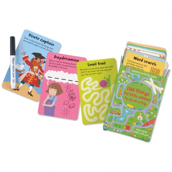 Usborne - 100 Things for Children to Do on a Journey Activity Cards 1
