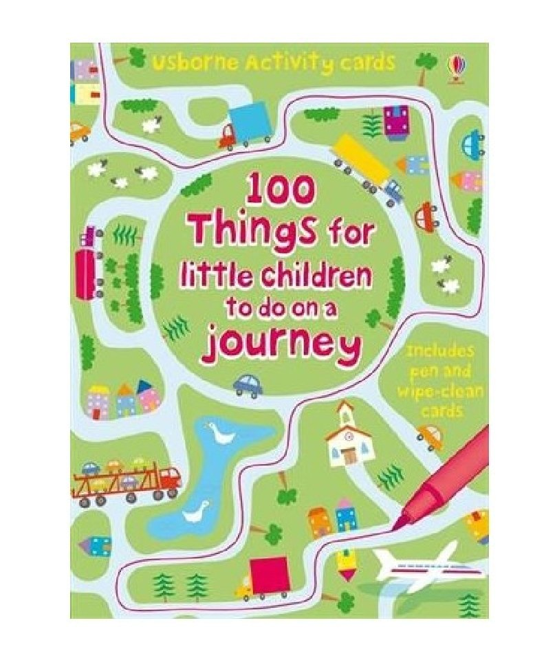 Usborne - 100 Things for Children to Do on a Journey Activity Cards