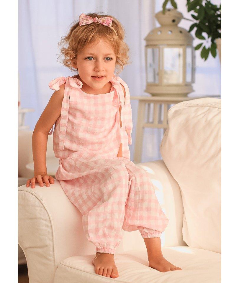 Authentic Pink- Şalvar Takım