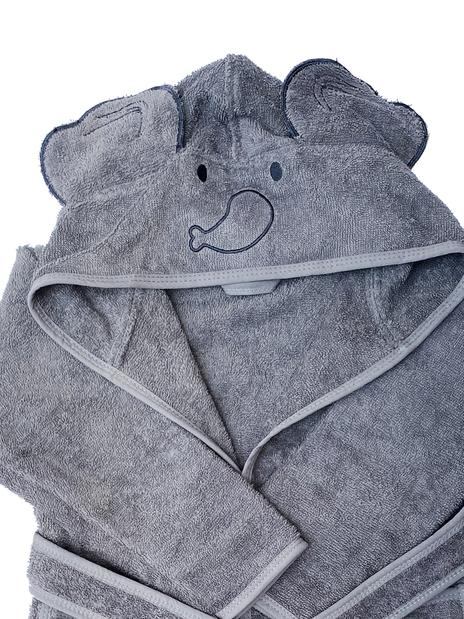 Baboo - Elphy Grey Bathrobe 0