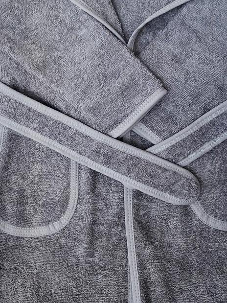 Baboo - Elphy Grey Bathrobe 1