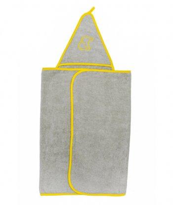 Baboo Kundak Havlu-Sarı (Lemon Swaddle Towel)