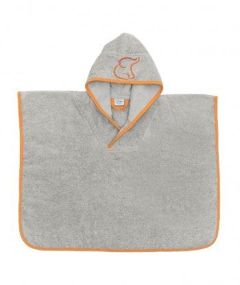 Baboo Panço Havlu-Turuncu (Orange Poncho Towel)