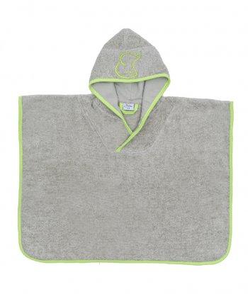 Baboo Panço Havlu-Yeşil (Green Poncho Towel)