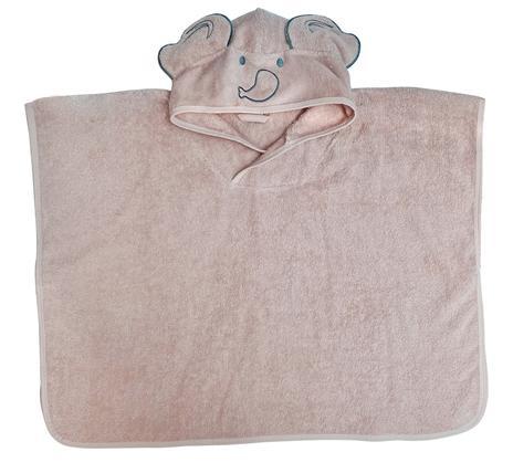 Baboo - Pink Poncho Towel 0