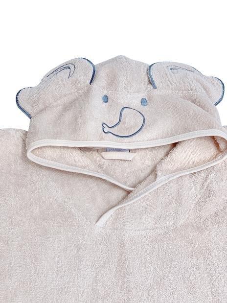Baboo - Pink Poncho Towel 1