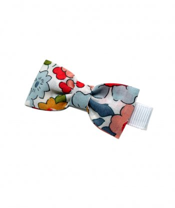 Betsy Mini Kurdele Klips Toka - Liberty Fabric