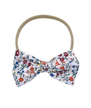 Flores Düğümlü Kurdele Saç Bandı - Liberty Fabric