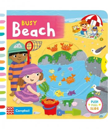 Busy Beach Board Book