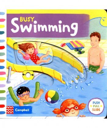 Busy Swimming Board Book
