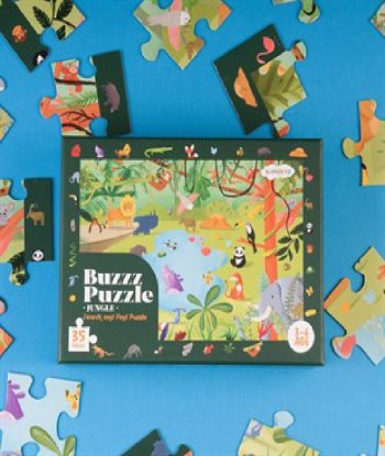 Buzz Puzzle - Jungle (Search and Find Puzzle)