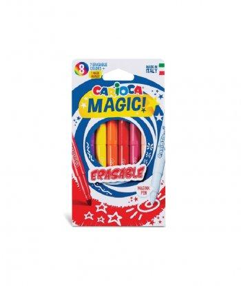 Carioca Magic Markers - Sihirli Keçeli Kalem (8'li)