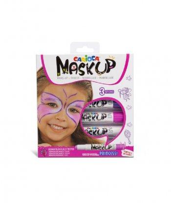 Carioca Mask Up Yüz Boya Kalemleri - 3 Renk (Prenses)