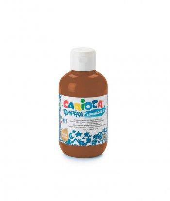 Carioca Süper Yıkanabilir Guaj Boya - 250 ml (Kahverengi)