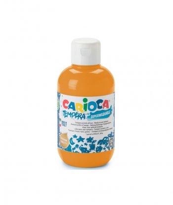 Carioca Süper Yıkanabilir Guaj Boya - 500 ml (Turuncu)