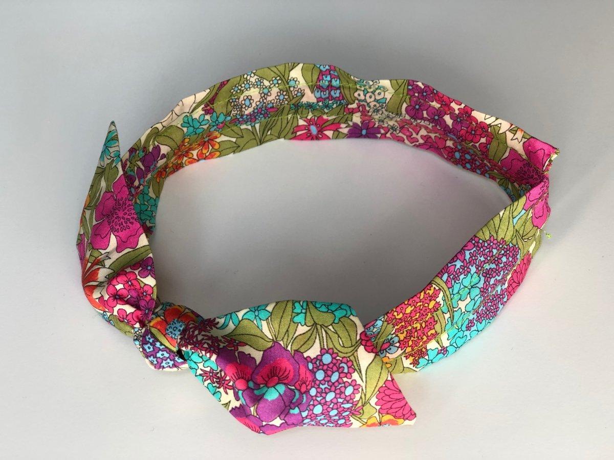 Ciara Taç - Liberty Fabric 1