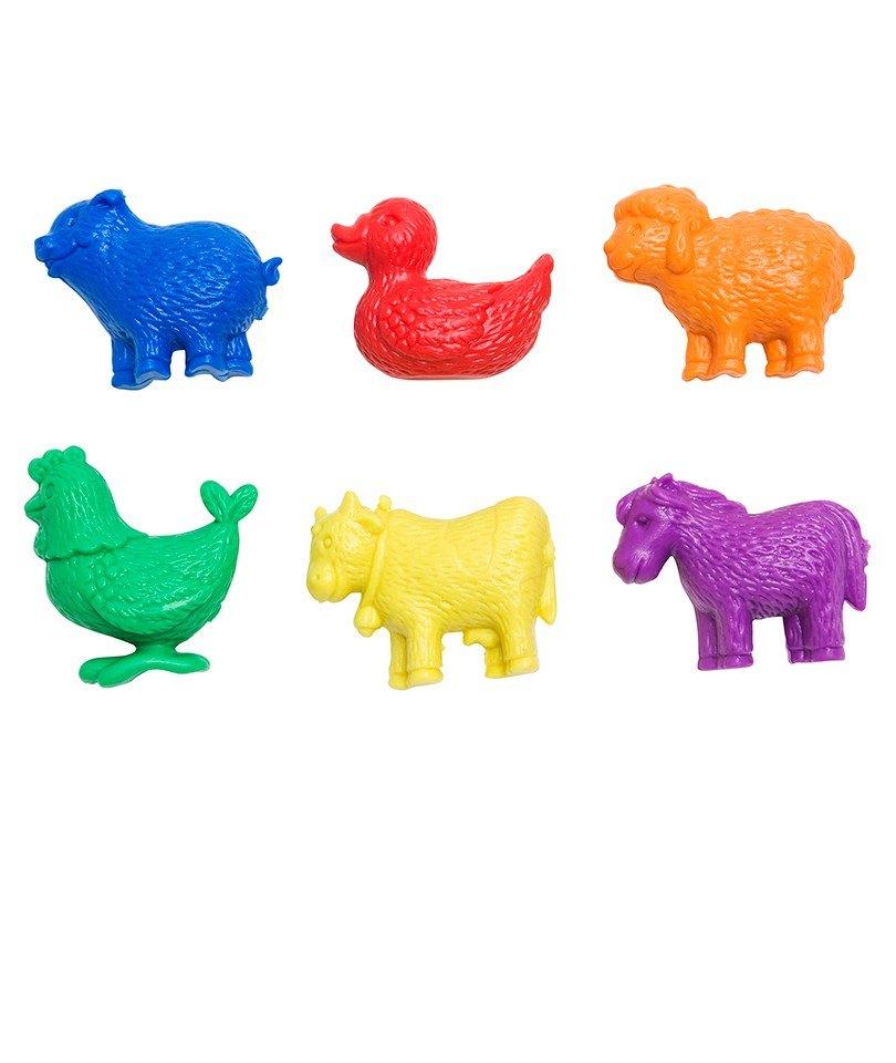 Edx Çiftlik Hayvanları Sayma Seti (6'lı) 0