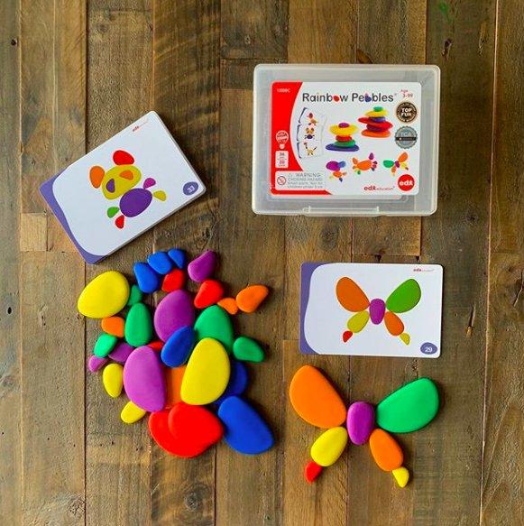 Edx - Rainbow Pebbles 1
