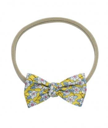 Ffion Düğümlü Mini Kurdele Saç Bandı - Liberty Fabric
