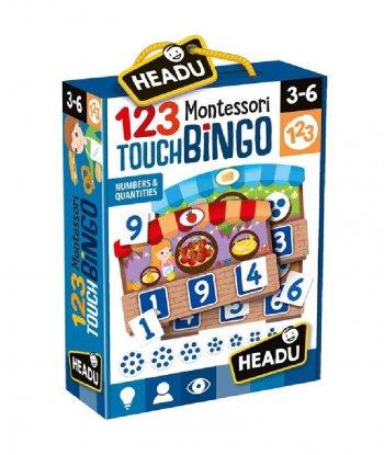 Headu - 123 Montessori Touch Bingo