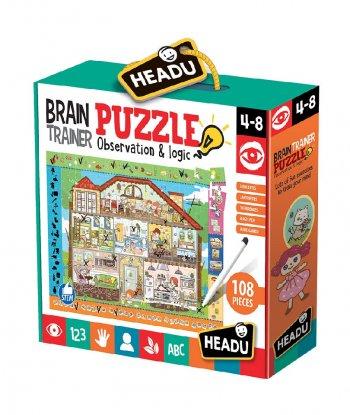 Headu - Brain Trainer Puzzle (108 Parça)