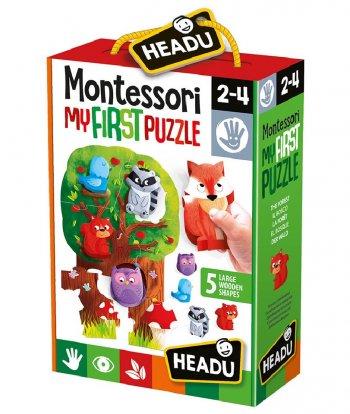 Headu - Montessori My First Puzzle-Forest