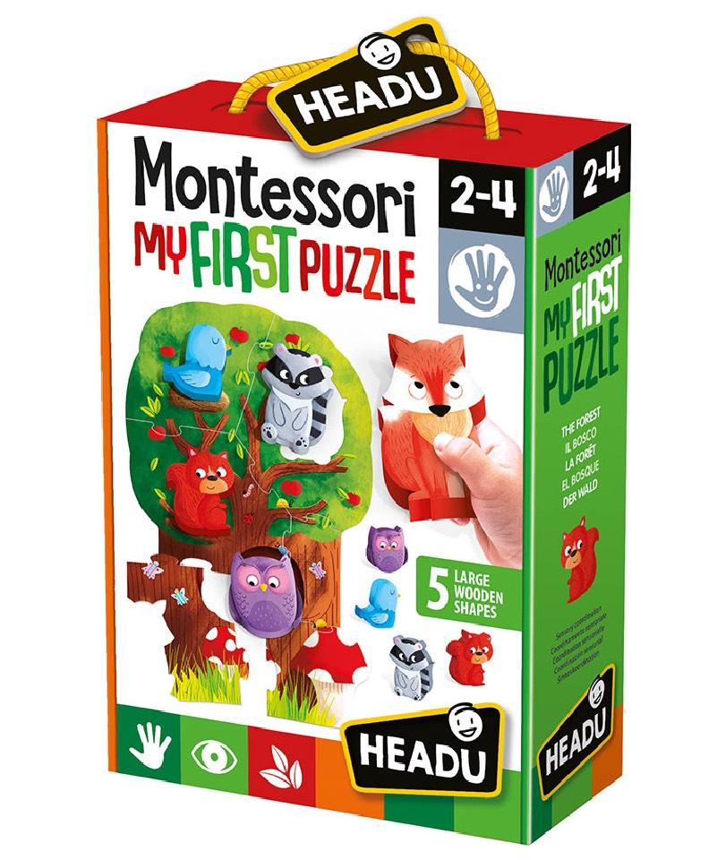 Headu - Montessori My First Puzzle-Forest 0