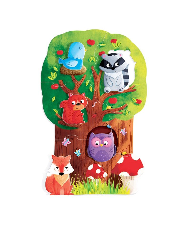 Headu - Montessori My First Puzzle-Forest 1