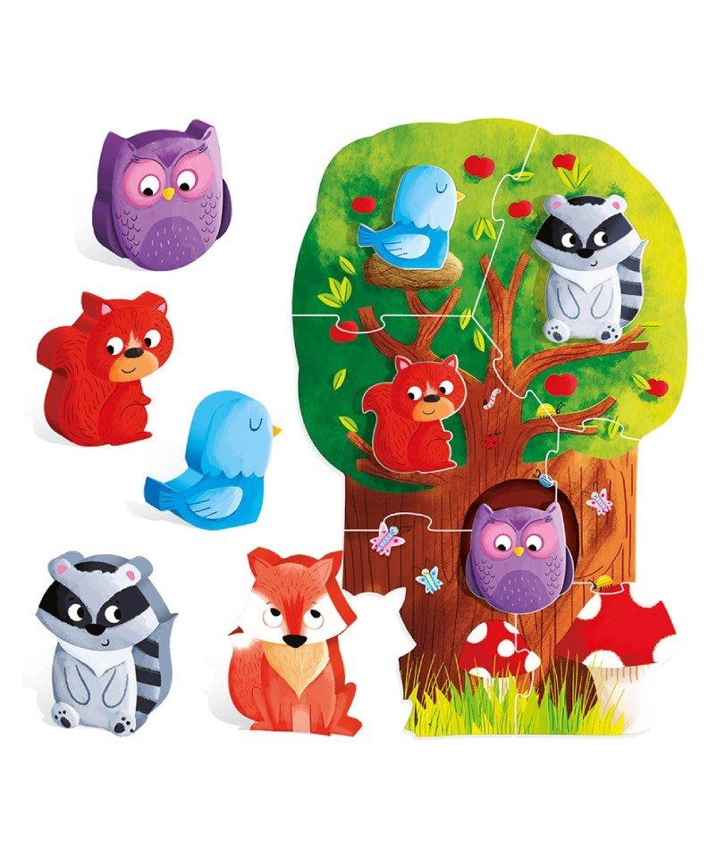 Headu - Montessori My First Puzzle-Forest 2