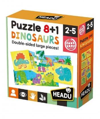 Headu - Puzzle 8+1 Dinasours
