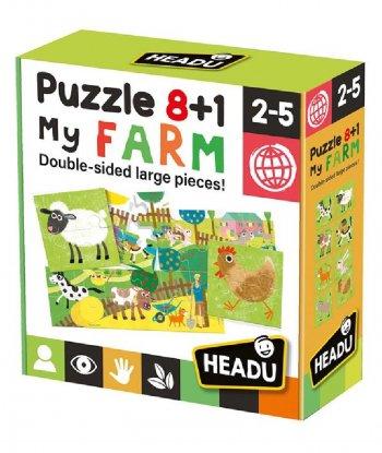 Headu - Puzzle 8+1 My Farm