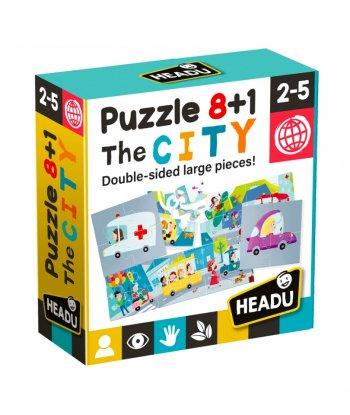 Headu - Puzzle 8+1 The City