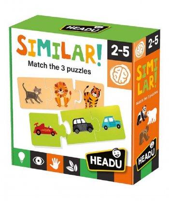 Headu - Similar! Match the 3 puzzles