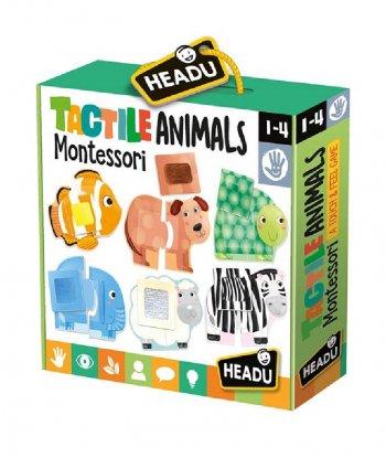 Headu - Tactile Animals Montessori