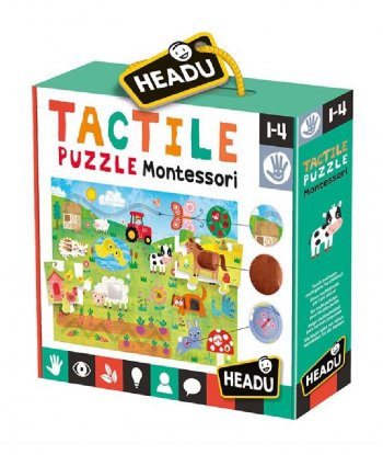 Headu - Tactile Puzzle Montessori