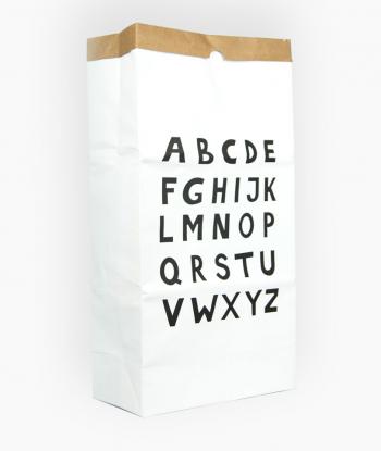 'Alphabet' Kağıt Sepet