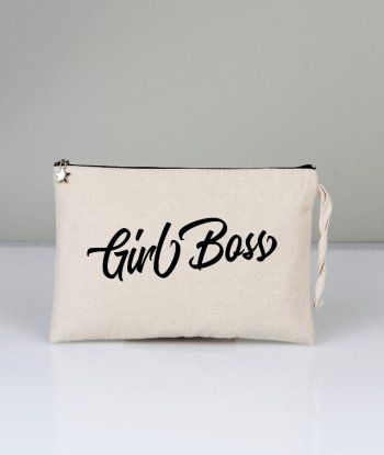 Kanvas Clutch Girl Boss