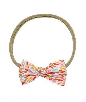 Karter Düğümlü Mini Kurdele Saç Bandı - Liberty Fabric