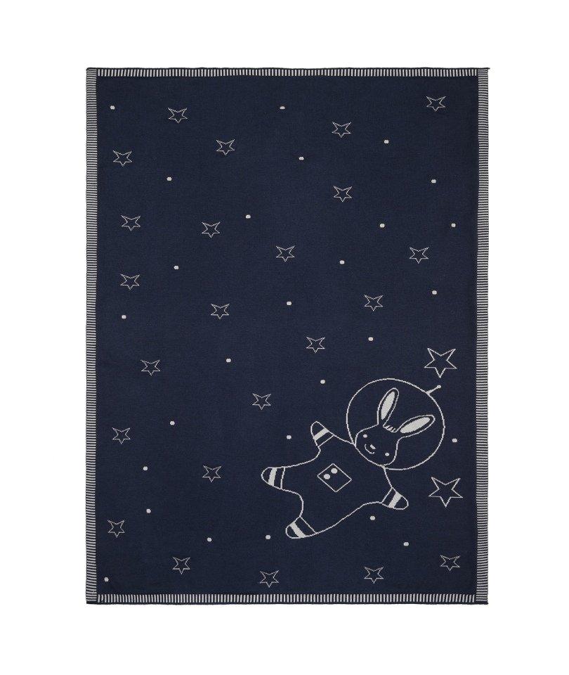 Baby Tales Lacivert Astronot Battaniye