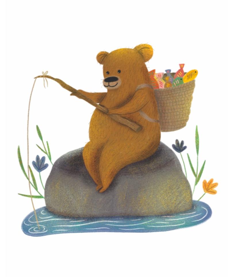 'Little Bear' Poster - Tüm geliri SMA'lı çocuklara