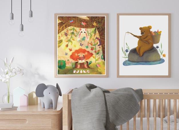 'Little Bear' Poster - Tüm geliri SMA'lı çocuklara 1