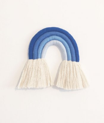 Makrome Gökkuşağı - 4'lü mavi