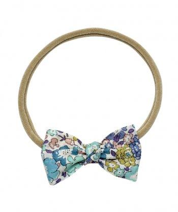 Michelle Düğümlü Mini Kurdele Saç Bandı - Liberty Fabric