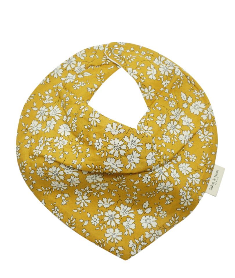 Mustard Capel Bandana Önlük - Liberty Fabric 0