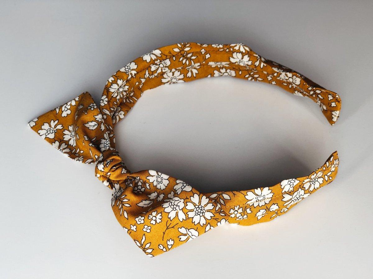 Mustard Capel Taç - Liberty Fabric 1