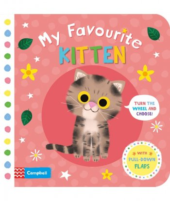 My Favourite Kitten Board Book