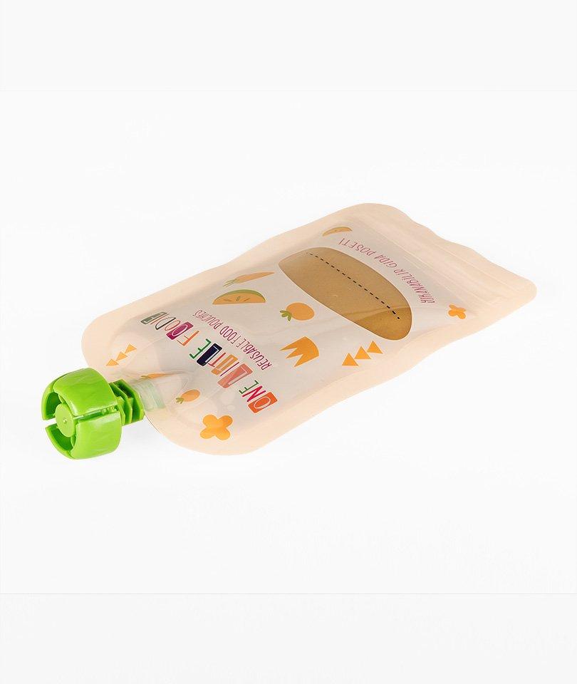 One Little Foodie Yıkanabilir Gıda Poşeti - 5 Adet 6