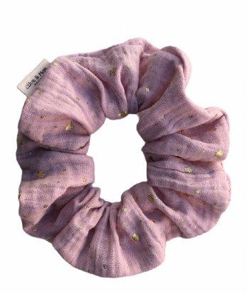 Organic Cotton Scrunchie - Blush