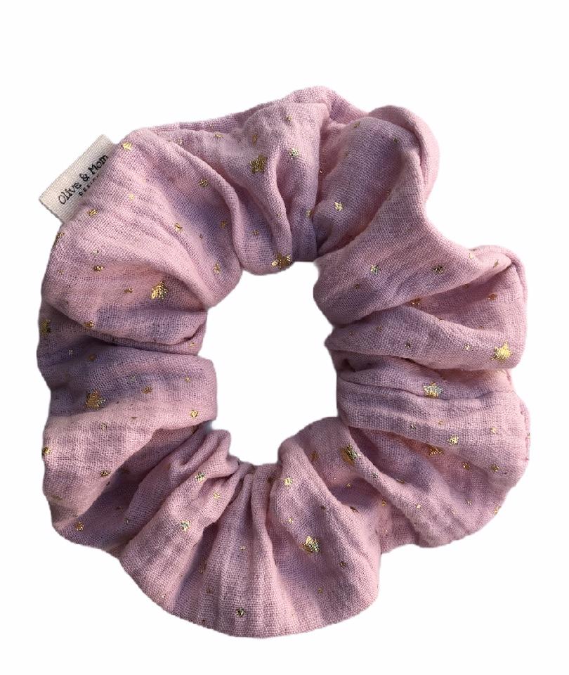 Organic Cotton Scrunchie - Blush 0