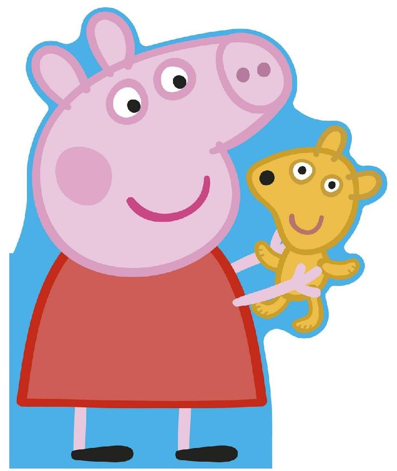 Peppa Pig: All About Peppa: A Peppa-shaped board book 0